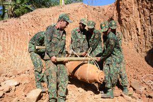Khánh Hòa: Xử lý an toàn quả bom napan 750 cân Anh