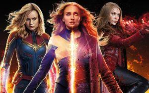 Jean Grey (Dark Phoenix) mạnh yếu ra sao khi đặt cạnh Scarlet Witch và Captain Marvel?