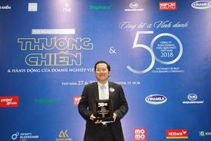 HDBank duy trì vị thế trong Top 50 công ty kinh doanh hiệu quả nhất Việt Nam