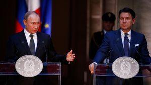 Tổng thống Nga Putin thăm Italia, mở đường cải thiện quan hệ với EU