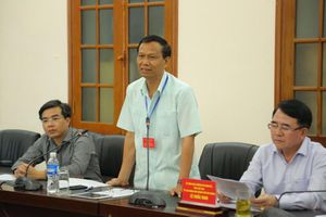 Thứ trưởng Lê Hải An: Nêu cao tinh thần trách nhiệm đến khâu cuối cùng của Kỳ thi