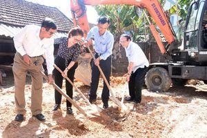 Khởi công xây dựng nhà tình nghĩa cho gia đình liệt sỹ ở Đô Lương