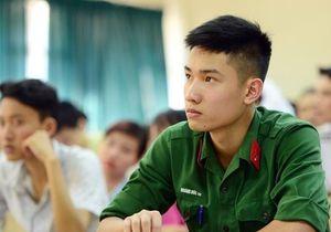 Ngành học có tỷ lệ 1 'chọi' 100 và những lưu ý về xét tuyển quân đội