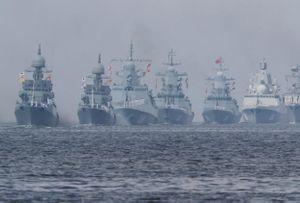Nga kỷ niệm Ngày Hải quân: Từ St. Petersburg đến Syria