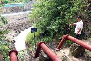 Khẩn trương xử lý việc trạm bơm hụt nước do thi công thủy điện
