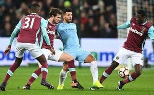 West Ham vs Man City: Nhà vô địch giương oai
