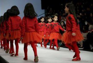 Bùng nổ ngành công nghiệp người mẫu nhí ở Trung Quốc