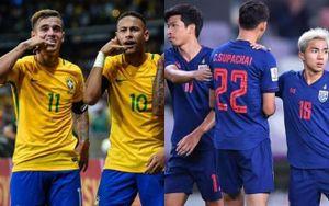 Sau đại chiến Việt Nam, Thái Lan sẽ đá giao hữu với tuyển Brazil