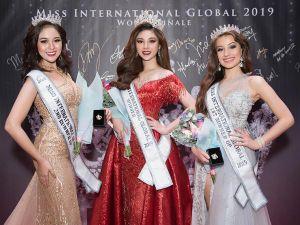 Vận động viên bóng chuyền 9x đăng quang Hoa hậu quốc tế toàn cầu