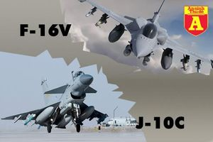 J-10C mới nhất của Trung Quốc không phải là đối thủ của F-16V Đài Loan?