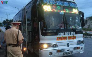 Xử phạt xe khách tuyến Móng Cái-Điện Biên nhồi nhét gần 90 hành khách