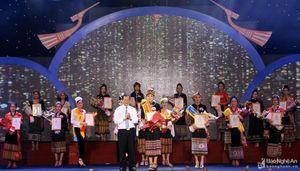Huyện Con Cuông đạt giải Nhất Hội diễn văn nghệ các dân tộc thiểu số tỉnh Nghệ An