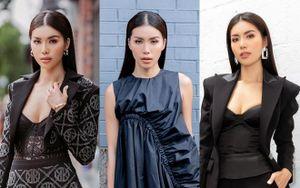 Minh Tú đẹp 'bất chấp' tại New York, 'sởn da gà' khi tham dự show thời trang Công Trí