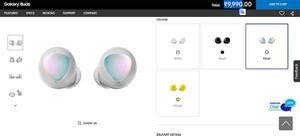 Samsung ra Galaxy Buds màu bạc, sang chảnh hơn nhưng giá không đổi