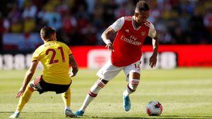 Watford - Arsenal 2-2: Auba ghi cú đúp, Sokratis, Luiz tặng quà Flores
