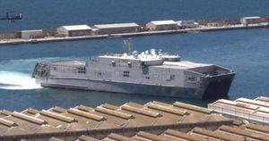 Tàu vận tải viễn chinh của Mỹ cơ động vào Biển Đen