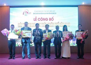 Thừa Thiên Huế: Trao 15 hạng mục đạt giải thưởng du lịch 2019