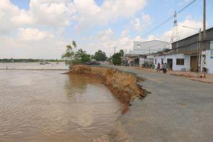 Sạt lở bờ sông, bờ biển tại ĐBSCL ngày càng nghiêm trọng