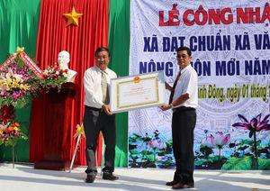 Xã Bình Thạnh Đông đạt chuẩn văn hóa nông thôn mới
