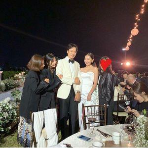 G-Dragon (Bigbang) dự đám cưới chị gái và diễn viên Kim Min Joon: Toàn cảnh hôn lễ đẹp lung linh!