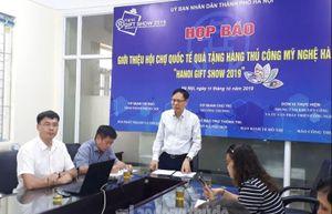 Hanoi Gift Show 2019 sẽ đón tiếp trên 10.000 khách giao dịch