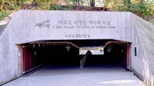 Hàn Quốc giữ một phần sân bay đầu tiên làmdi tích lịch sử