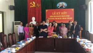 Lễ ký kết nghĩa Sở Tư pháp 03 tỉnh Lạng Sơn- Đồng Nai- Kiên Giang