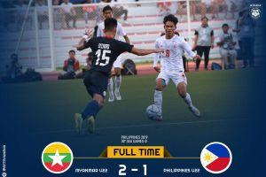 U22 Myanmar bùng nổ, đánh gục chủ nhà U22 Philippines