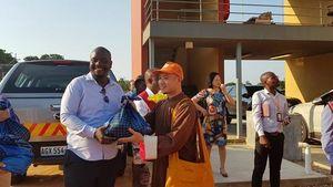 Giáo hội Phật giáo Việt Nam ủng hộ vùng bão ở Mozambique 100 tấn gạo