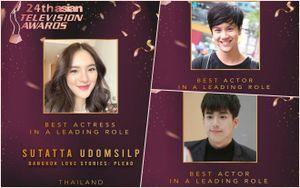 Dàn sao Thái góp tên trong danh sách đề cử tại giải truyền hình châu Á lần thứ 24