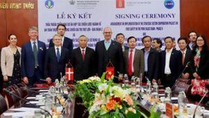 Hợp tác phát triển chuỗi giá trị thịt lợn Việt Nam–Đan Mạch