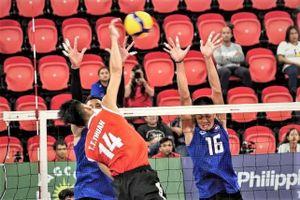 Tuyển bóng chuyền Việt Nam lần đầu thua Campuchia tại SEA Games