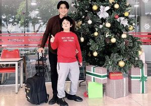 Con trai Tim - Trương Quỳnh Anh gây ngỡ ngàng với ngoại hình lớn khó tin, mới lên 8 đã cao ngang ngửa bố
