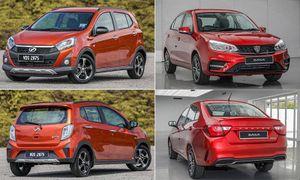 Hai mẫu ô tô nội địa đánh bật xe Nhật, Hàn khỏi thị trường Malaysia