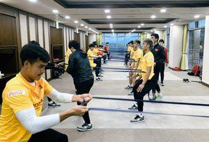 Ngày cuối trên đất Hàn, U23 Việt Nam đấu với CLB Busan Transportation Cooperation