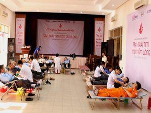 PC Quảng Nam: Hơn 100 đoàn viên tham gia hiến máu tình nguyện