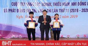 17 đề tài đạt giải hội thi sáng tạo kỹ thuật và cuộc thi sáng tạo thanh thiếu niên, nhi đồng huyện Nghi Xuân