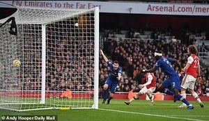 Suy sụp ở hiệp 2, Arsenal cay đắng thất bại trước Chelsea