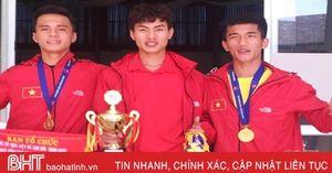 Hà Tĩnh giành 2 HCV tại Giải Việt dã leo núi đầu năm 2020