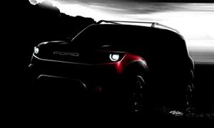 Ford Baby Bronco 2021 'em song sinh' nam tính hơn Escape