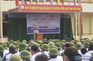 Học sinh trường Hiền Đa tìm hiểu về chủ quyền, lợi ích Việt Nam trên Biển Đông