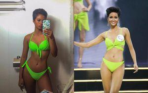 'Bản sao' H'Hen Niê tại Miss Universe Philippines, gương mặt góc cạnh, body cực phẩm