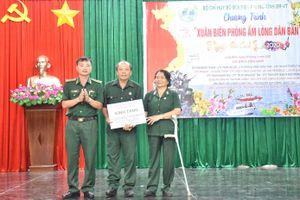 BĐBP Bà Rịa - Vũng Tàu tặng quà tết cho gia đình chính sách, hộ nghèo