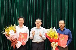 TP. Hồ Chí Minh, Bạc Liêu có nhân sự, lãnh đạo mới
