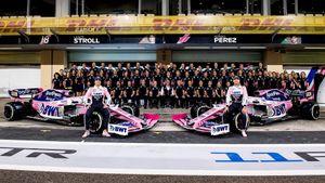 Racing Point được đổi thành đội Aston Martin từ mùa giải 2021