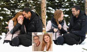 Con gái tỉ phú Bill Gates đồng ý lời cầu hôn bất ngờ của bạn trai