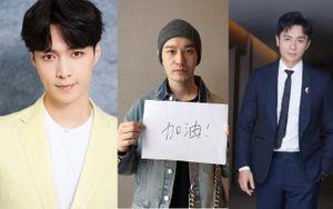 Lý Thần, Huỳnh Hiểu Minh cùng dàn diễn viên trong 'Cẩm y chi hạ' động viên tinh thần cho tất cả nhân viên y tế