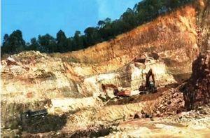 Thanh Hóa: Mỏ khai thác đất san lấp gây ô nhiễm