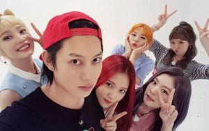 Dù hẹn hò với Momo như Heechul vẫn có cả hội chị em bạn dì cực thân thiết toàn sao nữ đình đám