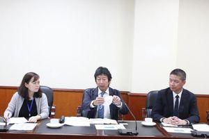 Thứ trưởng Đặng Hoàng An làm việc với Đại diện Tập đoàn AEON Việt Nam